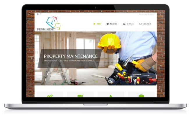 Prominent Construction's website