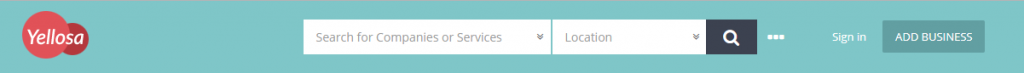 YelloSa Directory Main Menu Image